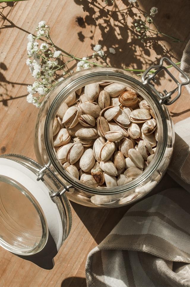 Pistacho pistamed a granel en cocina