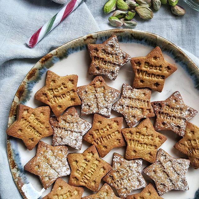 Galletas de pistacho navidad