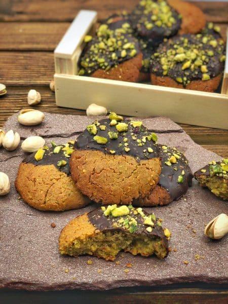 Cookie de pistachos