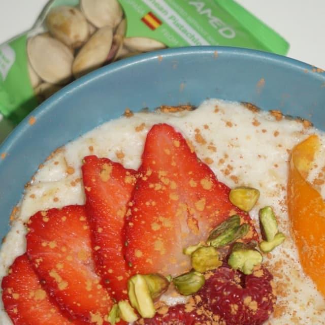 Porridge-con-pistachos