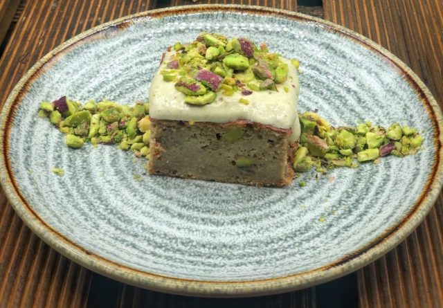 Brownie de pistachos I