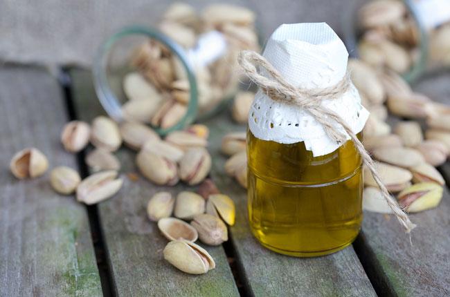 aceite de pistachos