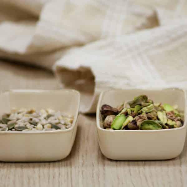 semillas y frutos secos proteina